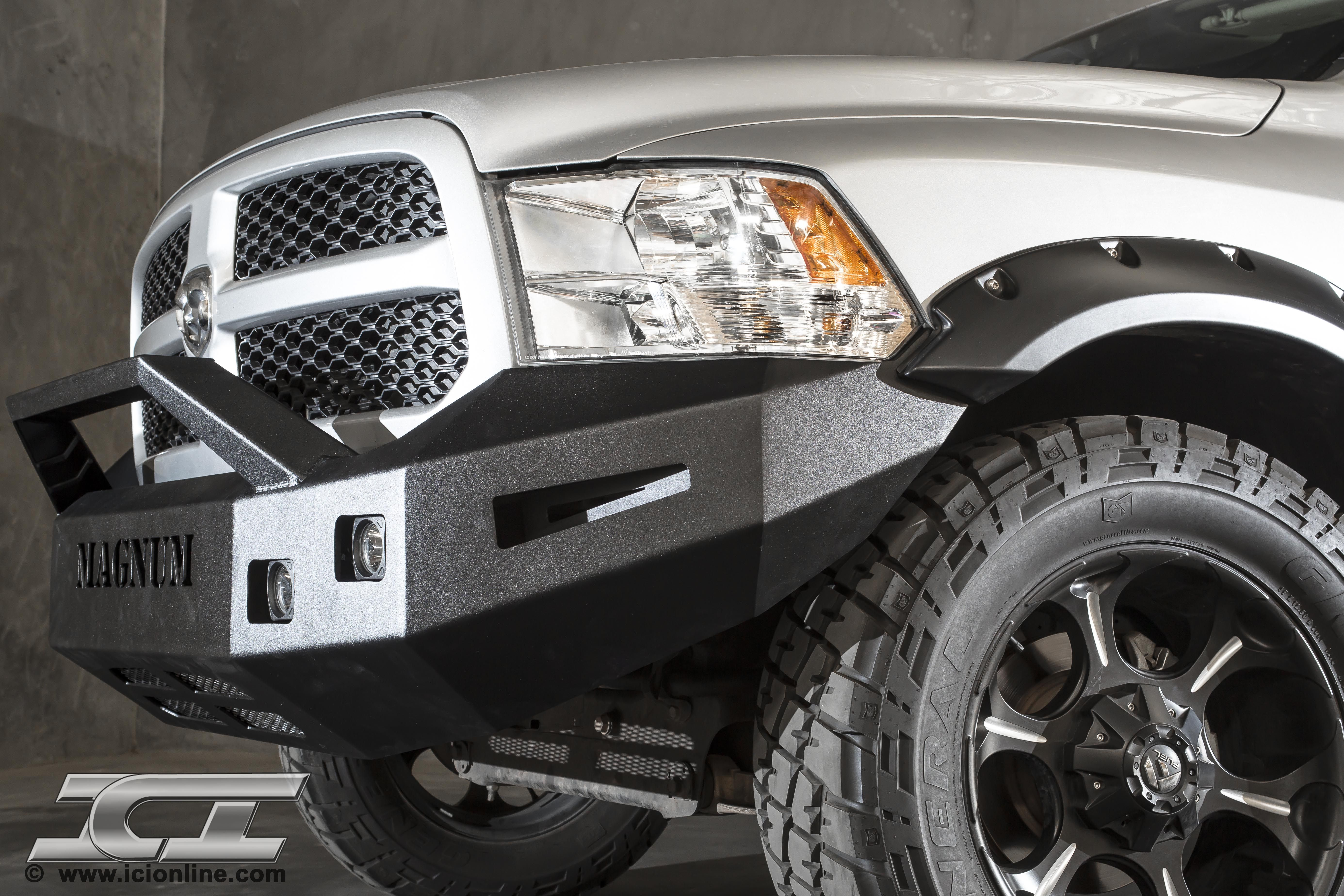 2014 dodge ram bumper - Front Magnum Bumper For 2009 2014 Dodge Ram 1500 Sport And Non Sport