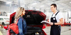 Скидка на ремонт автомобиля для девушек -10%
