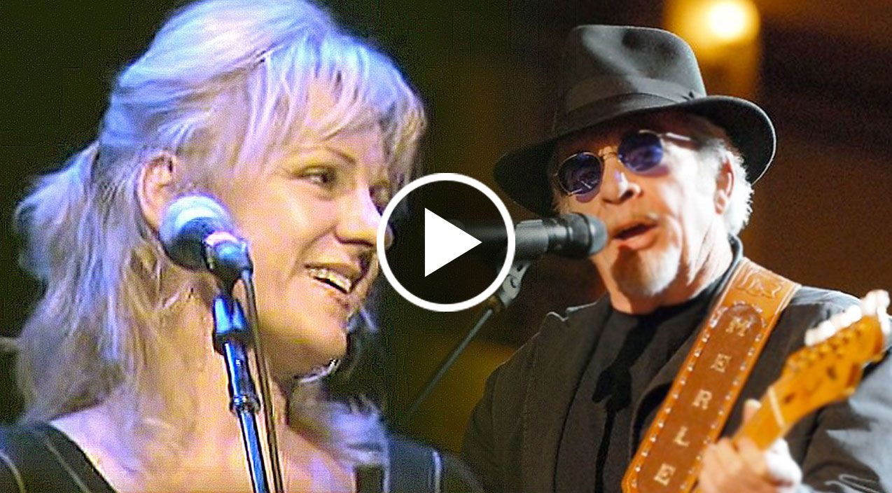 Merle Haggard & Son Benny Perform Together While Wife