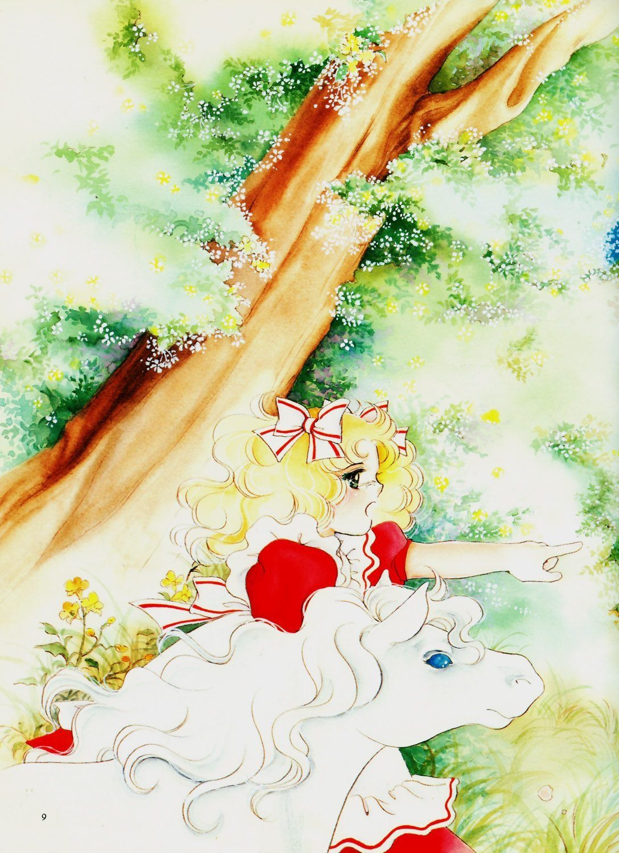 Candice white ardley candy history of manga painting