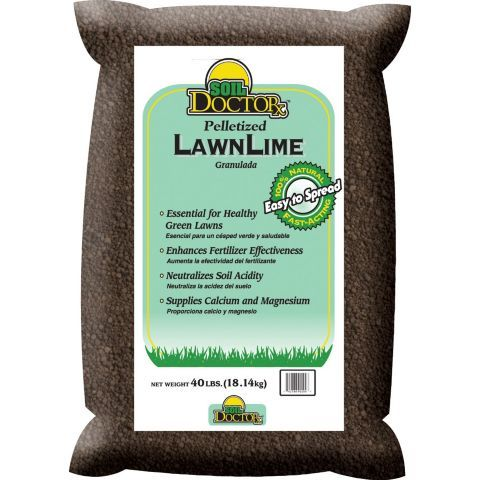 Soil Doctor Pelletized Lawn Lime 40 Lb Soil Lawn And Landscape Garden Defense