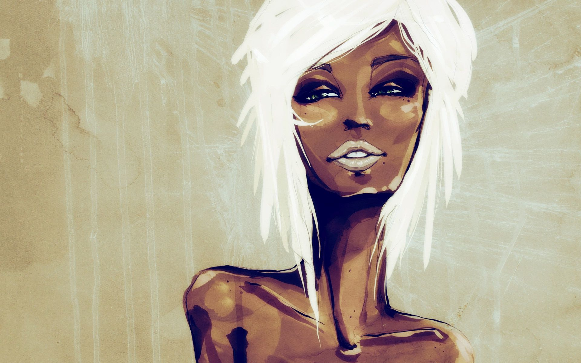 Black Woman Painting brought to you by  blk art