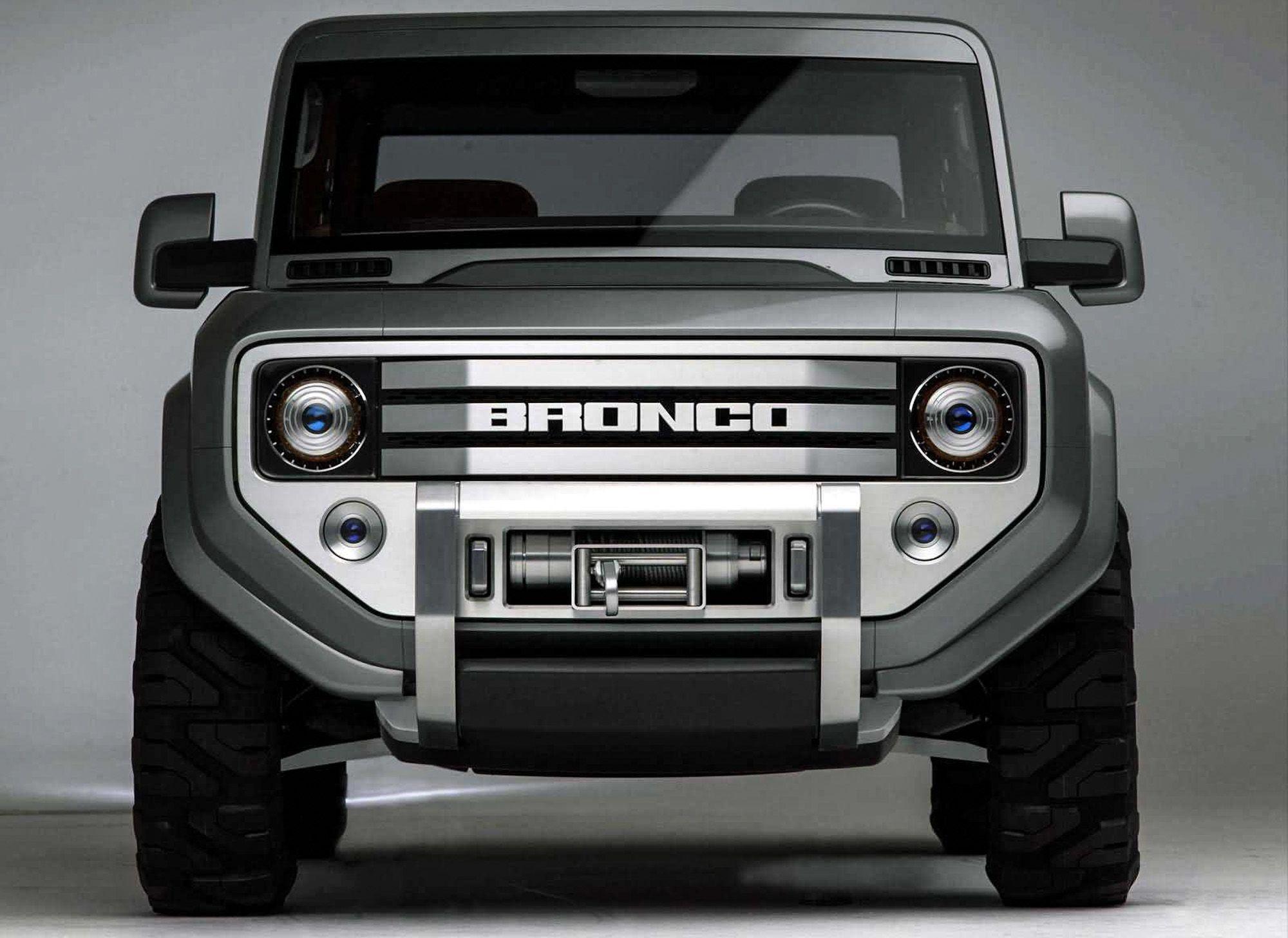 2004 ford bronco concept car detroit 2 Concept Cars