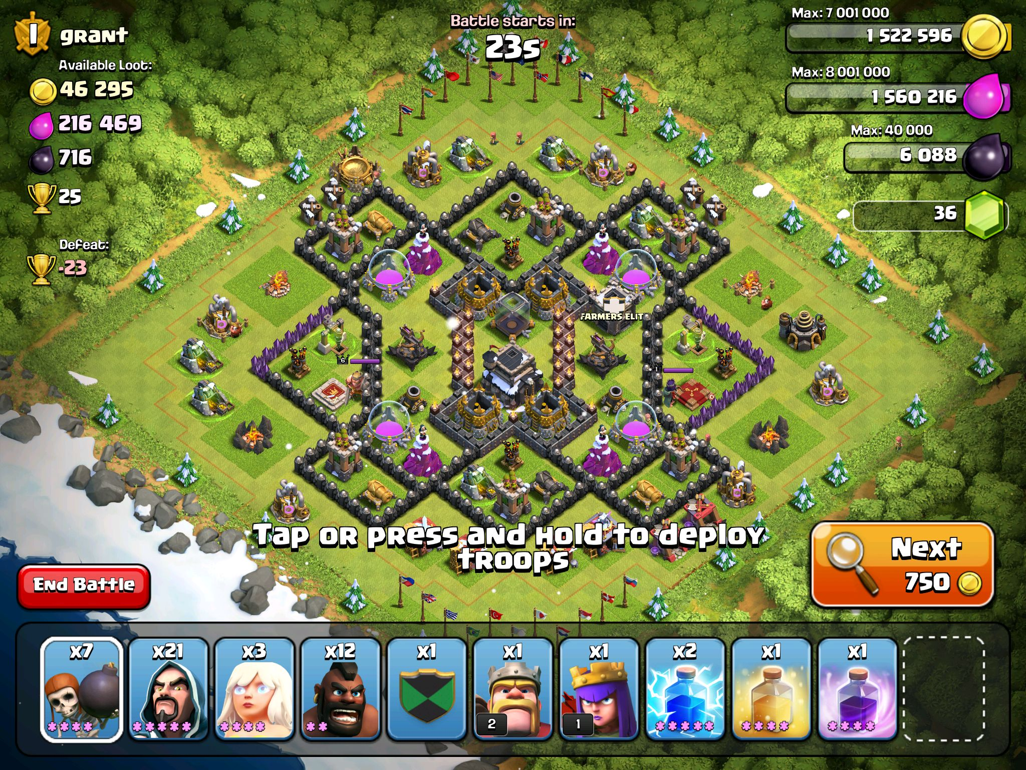 Base set up coc Clash of clans, Troops, Hold on