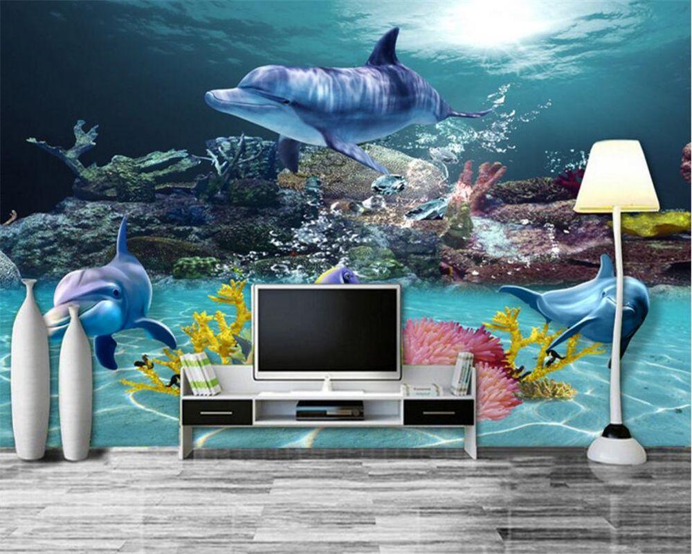 Beibehang 3d wallpaper Custom Fresco Wallpaper 3D