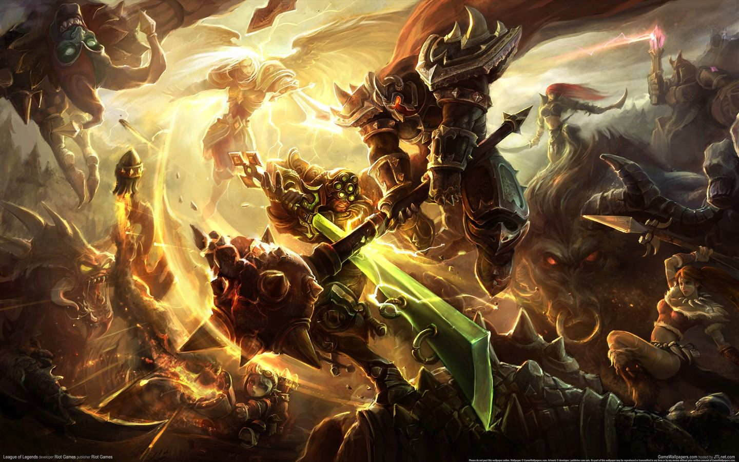 League of Legends game HD wallpapers 7 1440x900