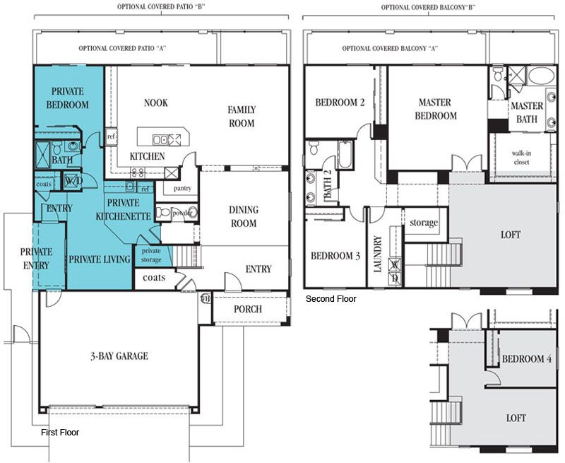 Lennar Multi Gen Or Next Gen New Homes For Sale In Henderson Nv Fusion Homes Multigenerational House Plans Vacation House Plans Multigenerational House