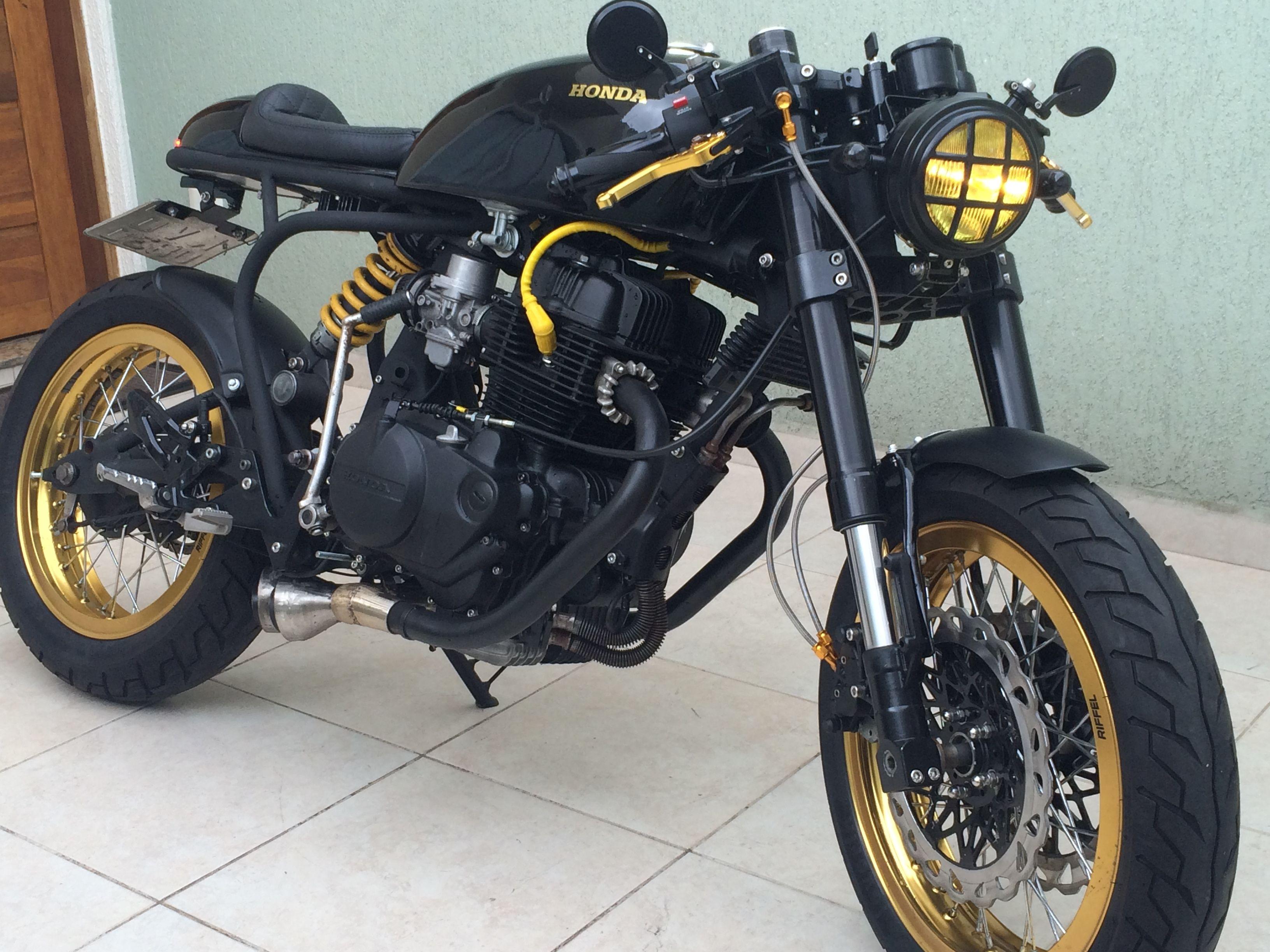 Honda CB450 Cafe Racer Frateschi