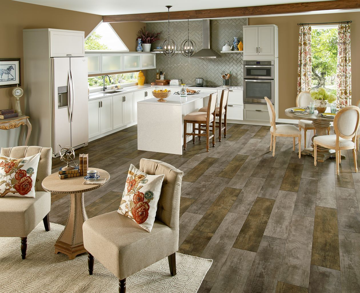 Vinyl is taking the flooring world by storm in 2018! Find