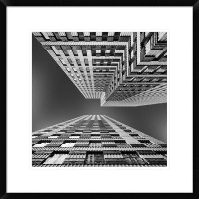 "Global Gallery 'Symphony' by Jeroen Van De Framed Photographic Print Size: 22"" H x 22"" W x 1.5"" D"