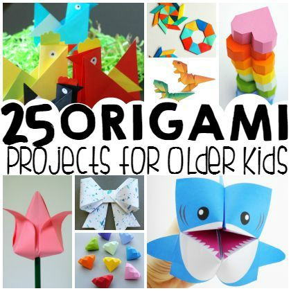 25 easy origami ideas for bigger kids origami ideas for Arts and crafts for 9 12 year olds