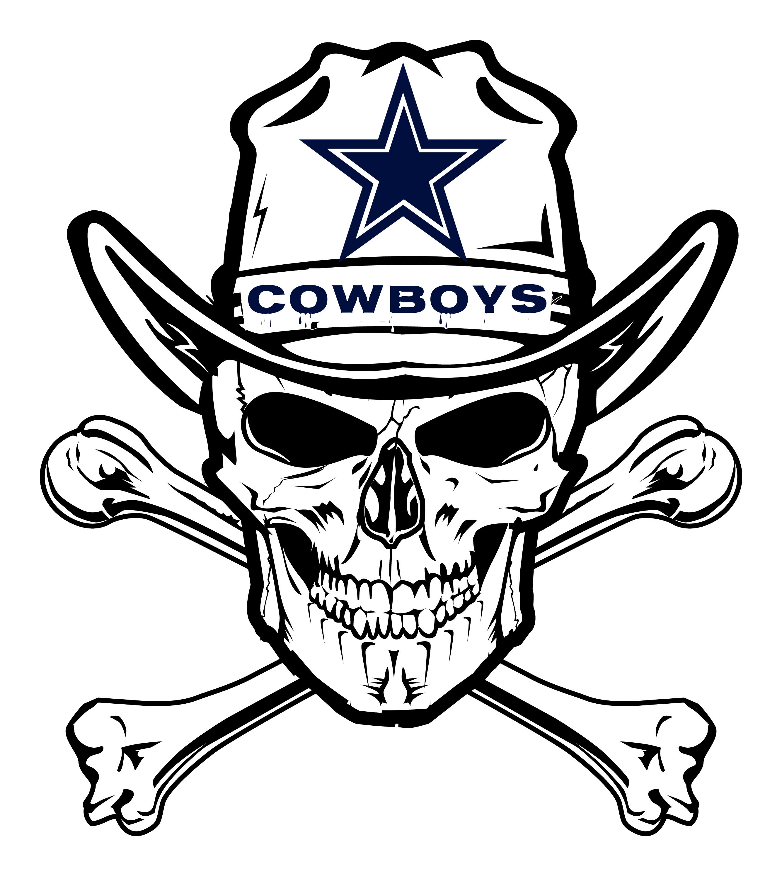 Dallas Cowboys Skull Dallas Cowboys Pinterest