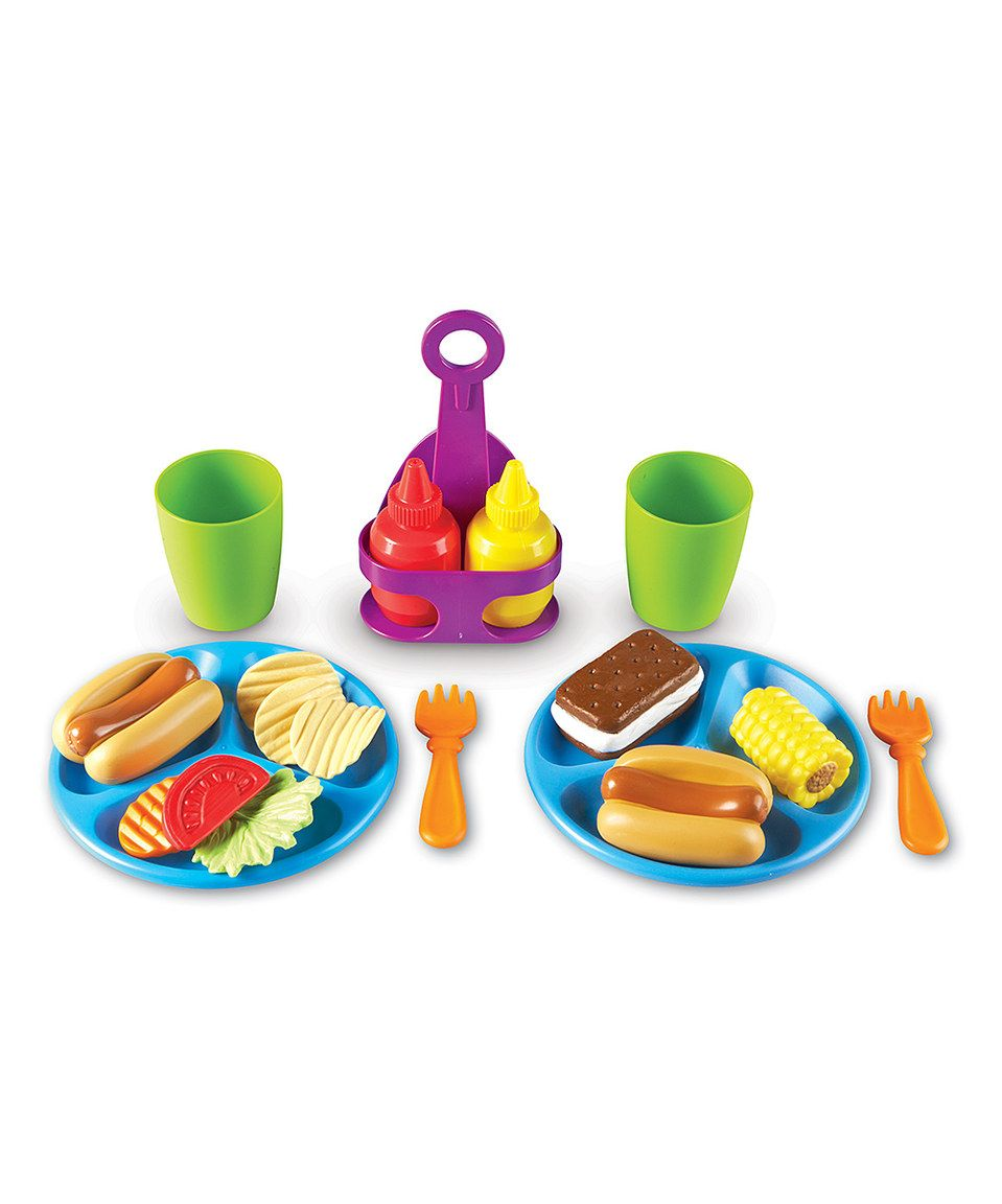Another great find on #zulily! Cookout Toy Set by New Sprouts ...