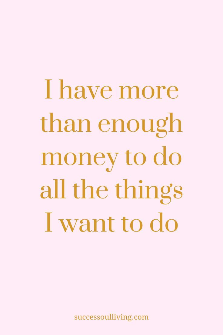 A Daily Affirmation To Manifest Prosperity | Success-soul® Living