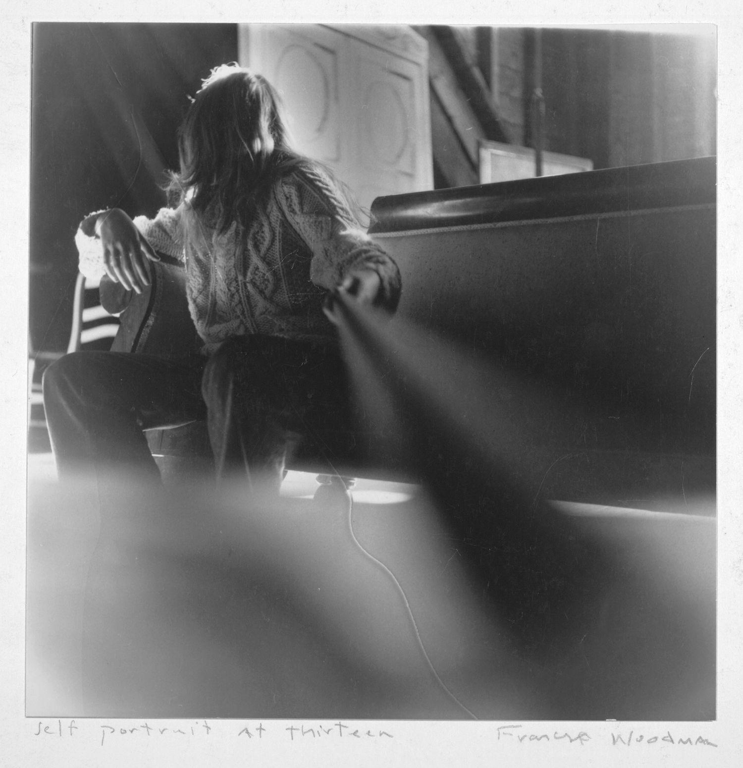 Francesca Woodman© – Self portrait at thirteen, Boulder, Colorado, 1972-1975
