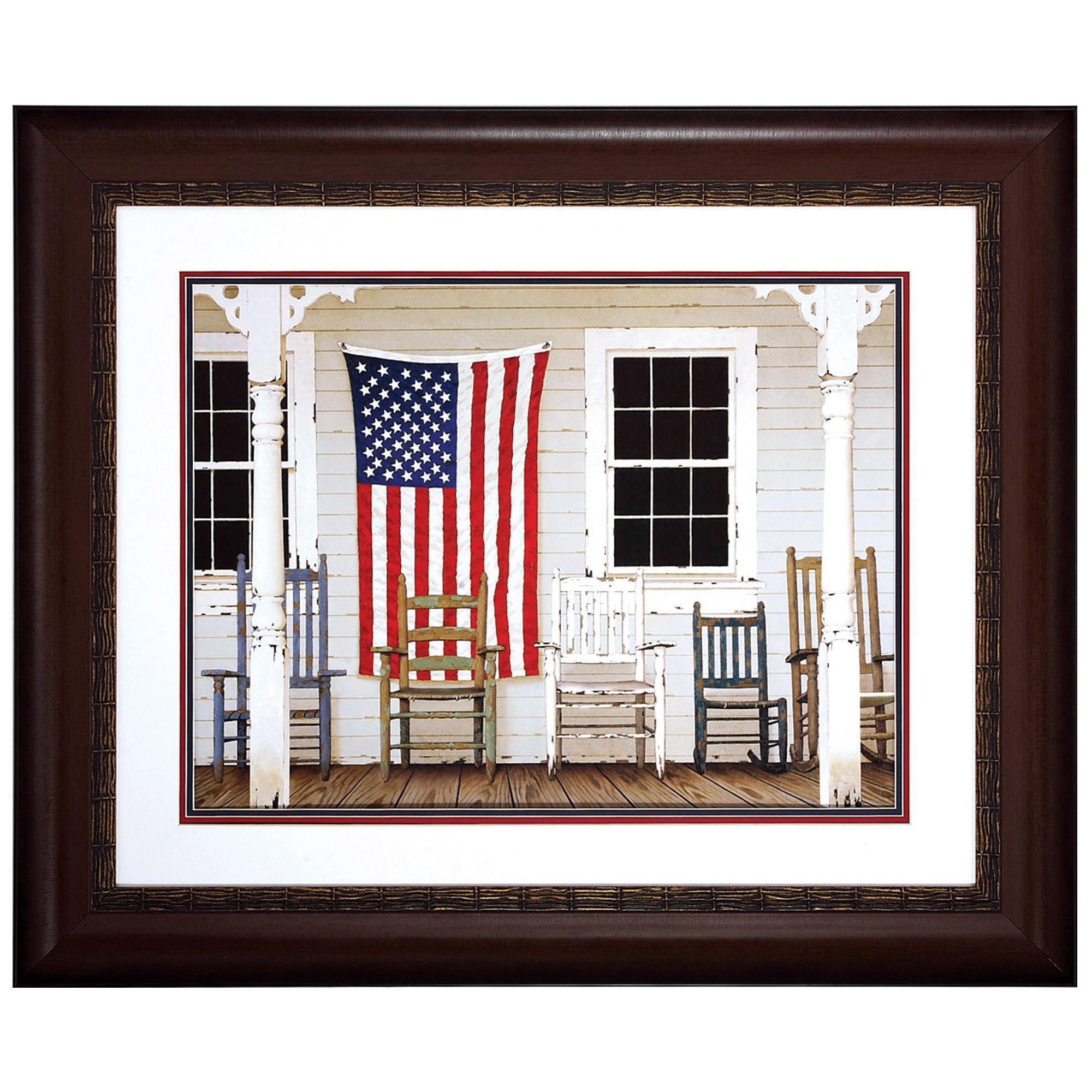 "American Porch Print- 34"" x 28"""