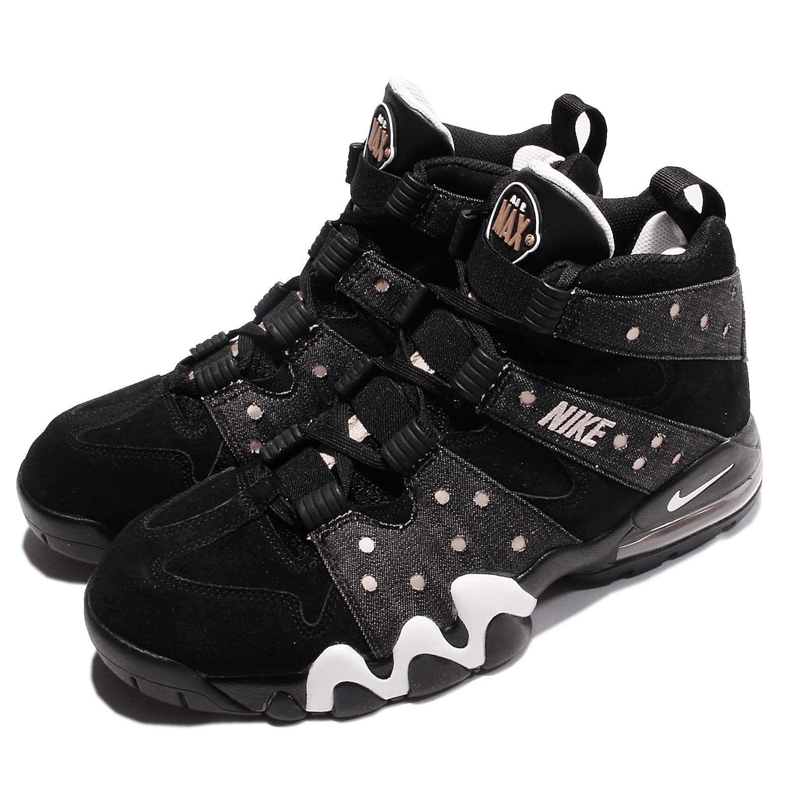 Nike Air Max 2 CB 94 Charles Barkley Black Bronze Mens Shoes 305440-004