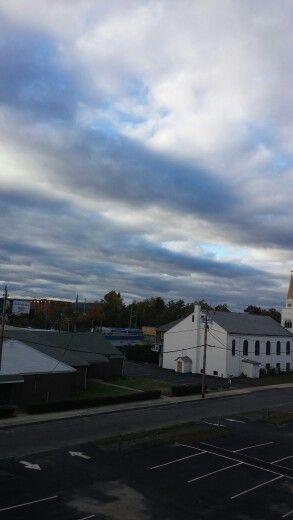 Crazy sky tonight- Westfield, MA