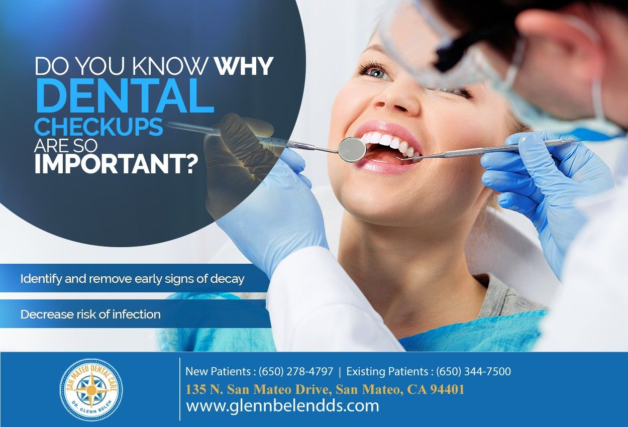 Is it time for your dental checkup? Call us at (650) 278