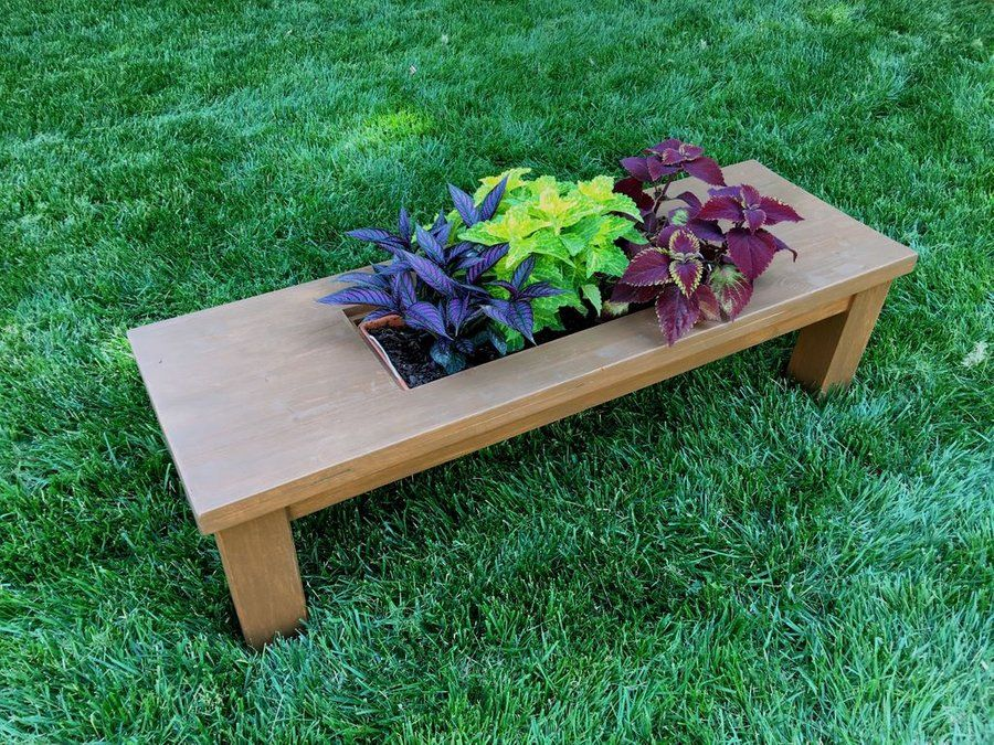 Coffee Table Planter Coffee Table Planter Planter Table