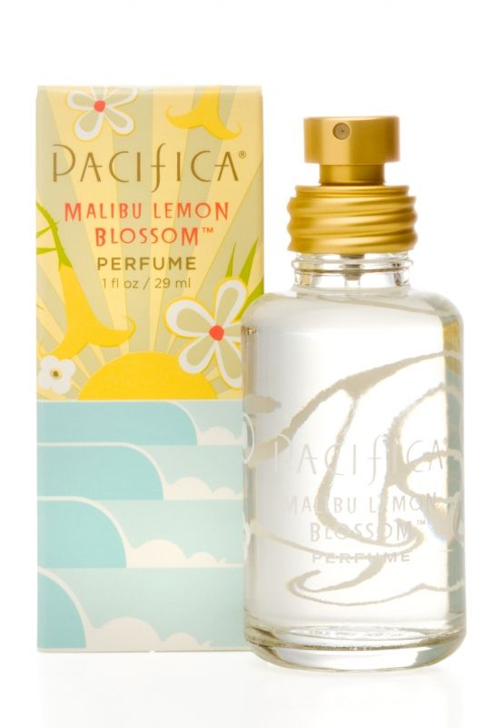 Looking for summer scents    Malibu Lemon Blossom Spray Perfume | Pacifica Perfume