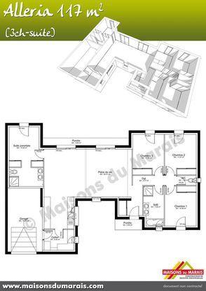 Modèle de maison Alleria -  Retrouvez tous les types de maison à
