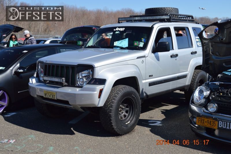 1 2009 Liberty Jeep Suspension Lift 4 Cragar D Window Black