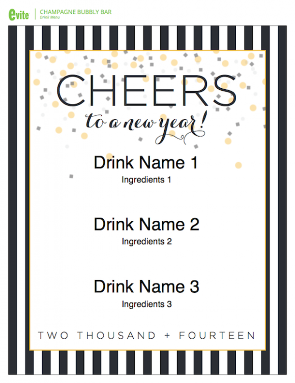 4 Easy Tips For Throwing a New Year\'s Eve Party! | Free Printables ...