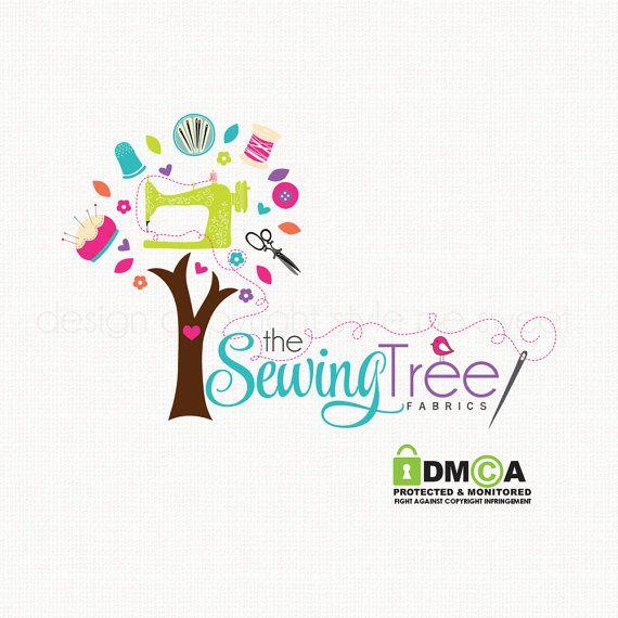 Máquina de coser Logo costura tienda insignia costurera Logo tela tienda Logo Applique tienda insignia Boutique insignia personalizada preconfeccionados Logo logotipo