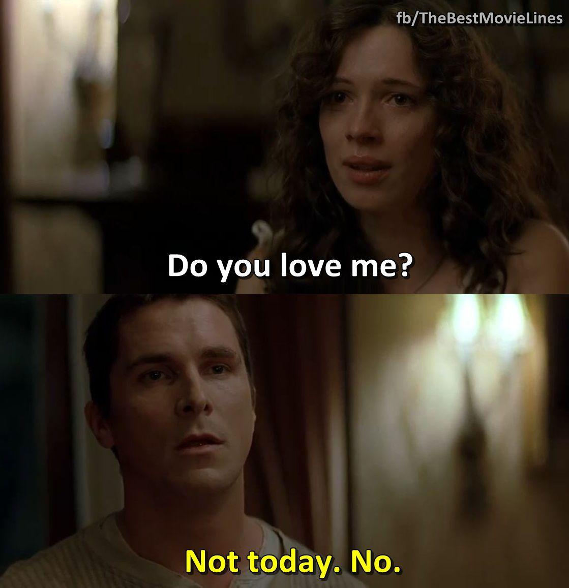 Christian Bale And Rebecca Hall In The Prestige 2006 Favorite