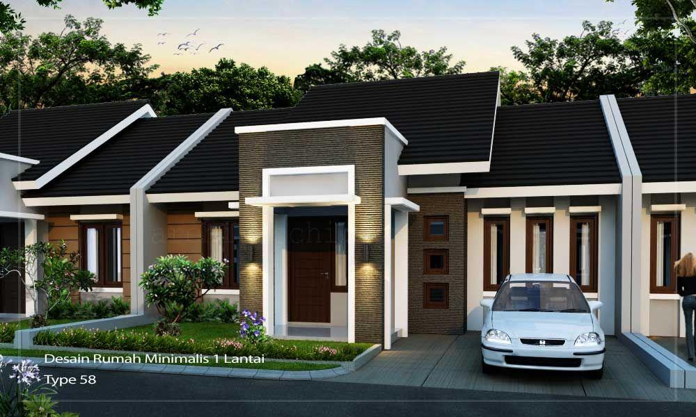 Arsitek Rumah Minimalis 1 Lantai Hub 0817351851 Www