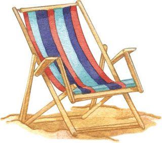 Dibujos Coloreados Cosas Playa Playa Dibujo Ilustracion De