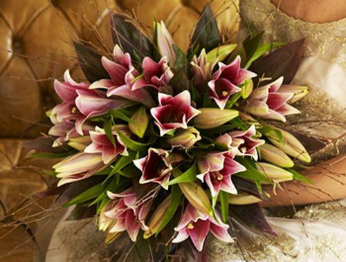 Amazing Jane Packer Lily Bouquet