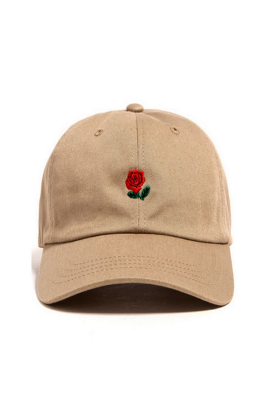 d42b3b80e78 Rose Embroidered Hat In Tan in 2019