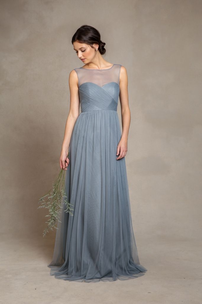 fe8dca88d931 Gorgeous Bridesmaid Dresses for 2015 by Jenny Yoo | Dusky Blue ...