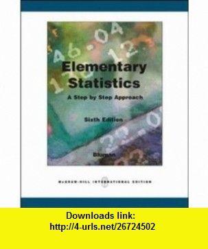 elementary statistics 10th edition bluman pdf