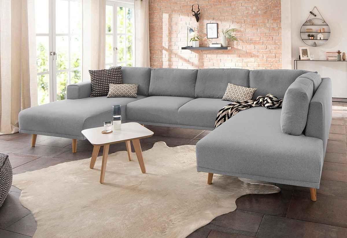 Home Affaire Wohnlandschaft Lasse Im Scandinavischem Stil Mit Holzfussen Online Kaufen Otto In 2020 Wohnlandschaft Wohnen Modernes Sofa