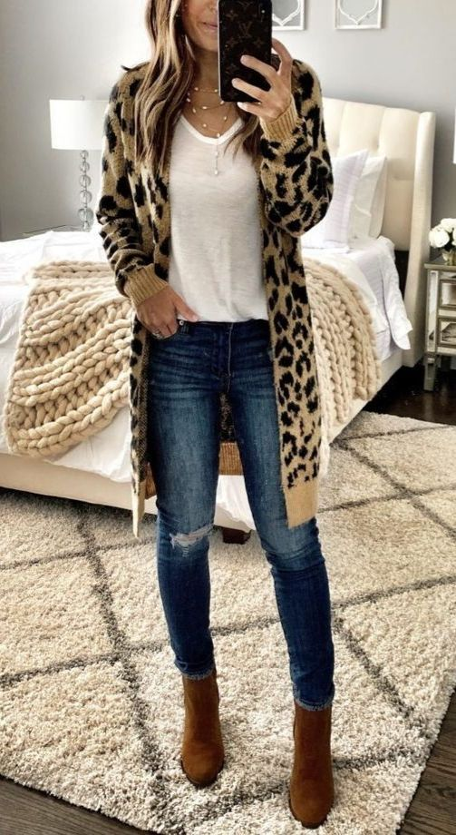 Photo of Trendy casual fall outfits with booties #fashion #style #outfits