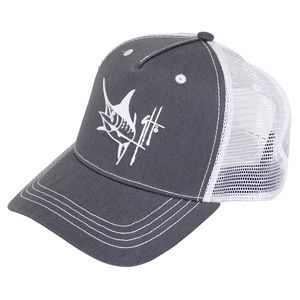 GUY HARVEY Bone Daddy Trucker Hat Sale Price   14.00 (30% Off - Ends 726389c03e4