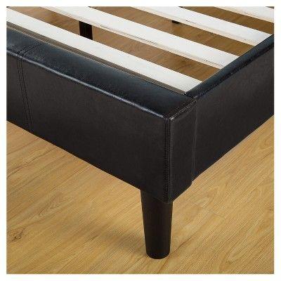 fb6f032e23cc0 Dupont Tufted Upholstered Platform Bed - King - Dark Gray - Sleep Revolution