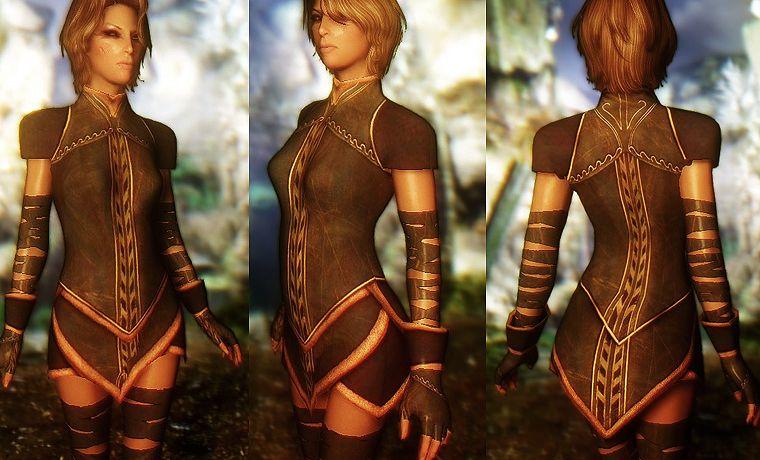 light elven armour thalmor retexture at skyrim nexus mods and