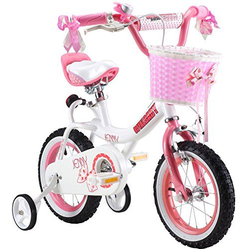 Amazon Com Royalbaby Jenny Princess Pink Girl S Bike With Training Wheels And Basket Perfect Gift For Kids Bike With Training Wheels Kids Bike Kids Bicycle