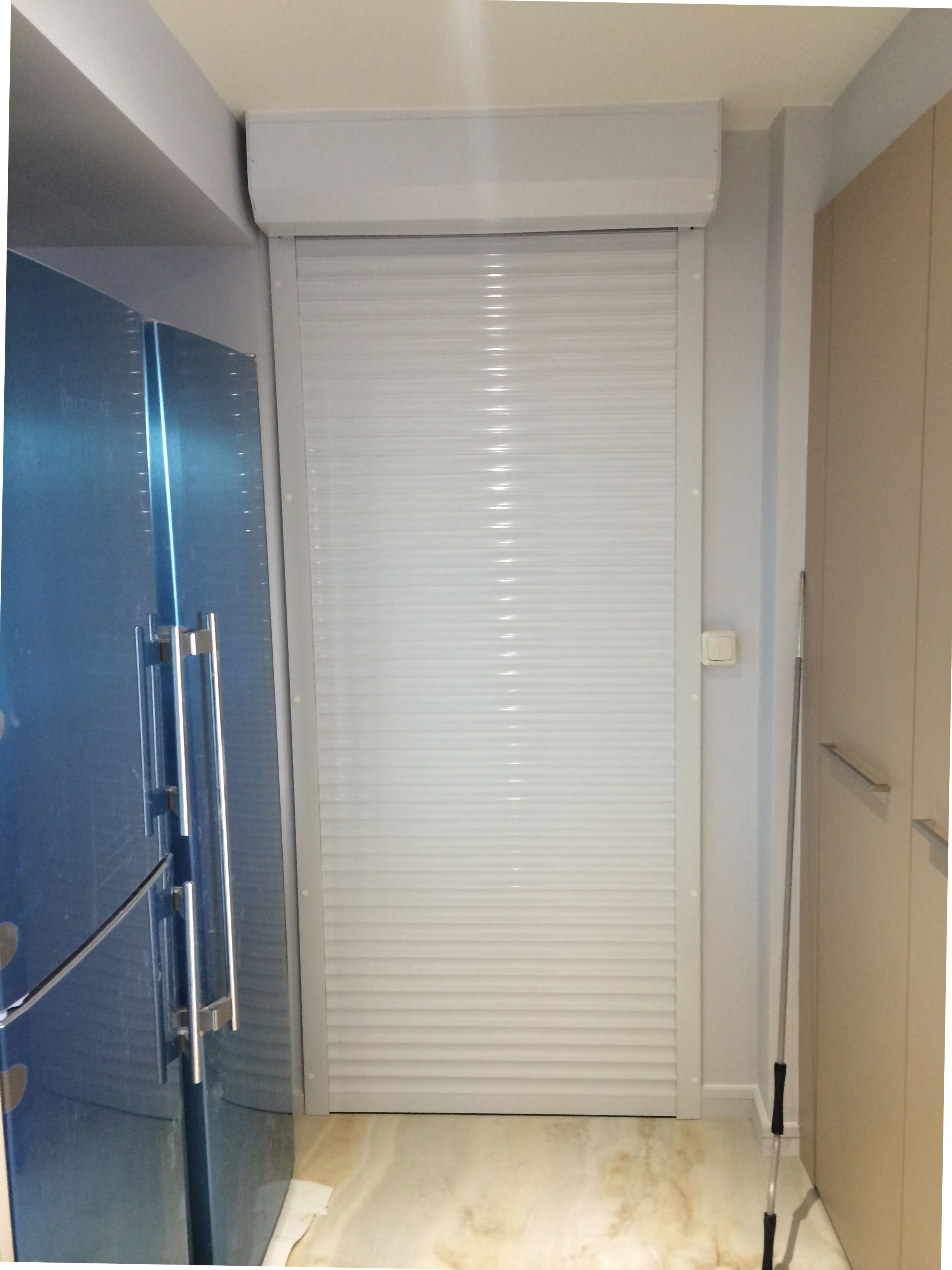 Roller Shutter Kitchen Doors Rsg5100 Continental Door Security Shutter Fitted To A Residential