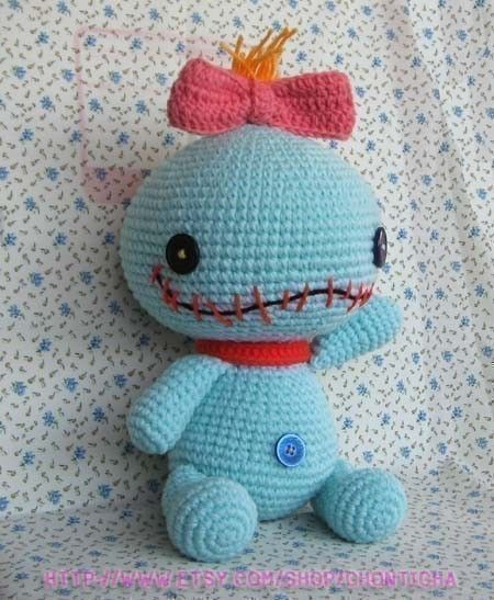 SCRUMP 12.5 inches - PDF amigurumi crochet pattern. $7.00, via Etsy.
