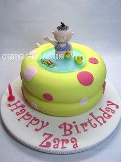 Brilliant Blow Up Baby Pool Cake Pool Cake Pool Birthday Cakes Cake Funny Birthday Cards Online Unhofree Goldxyz