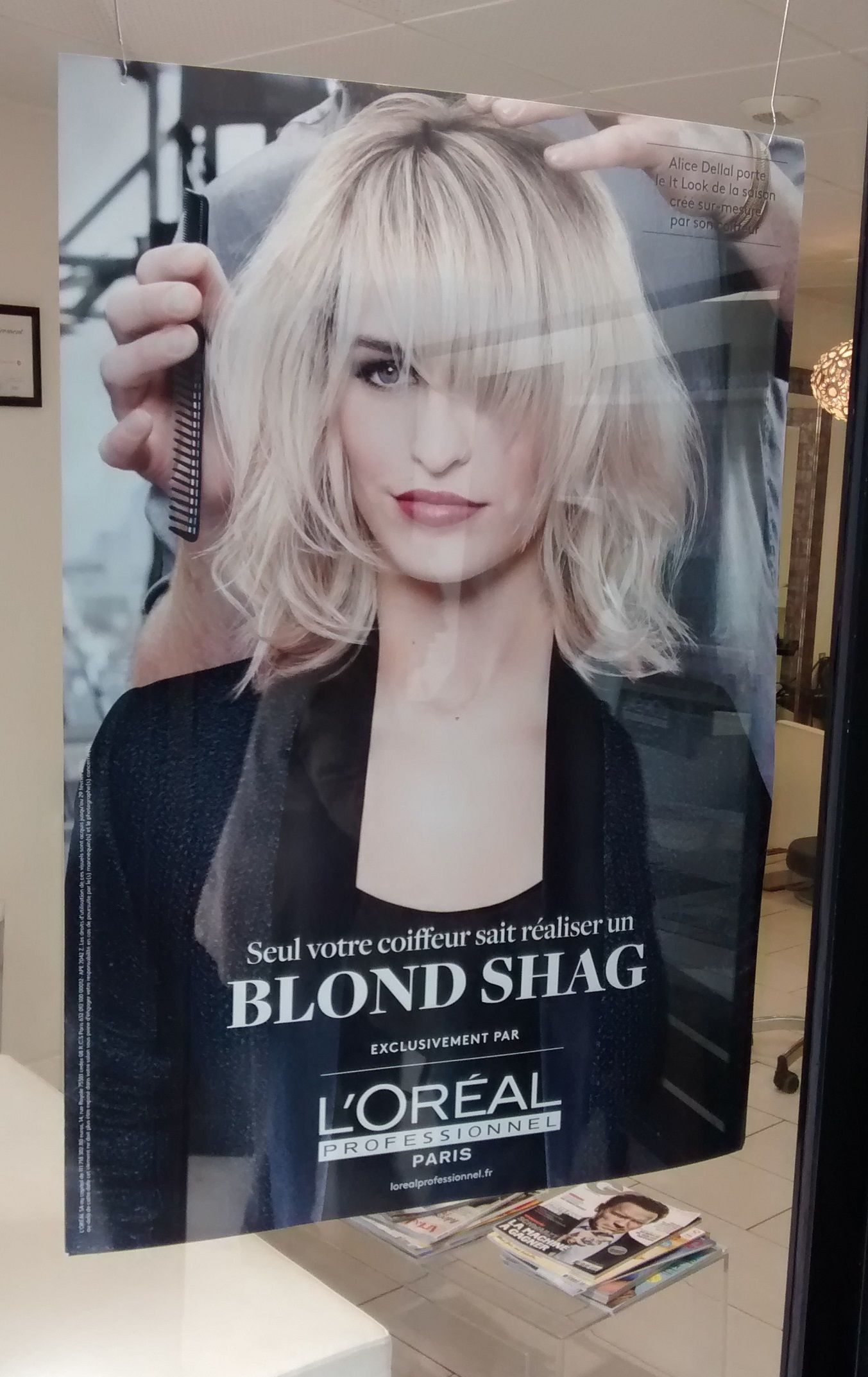 Blonde Shag Warms Your Cockles Pinterest