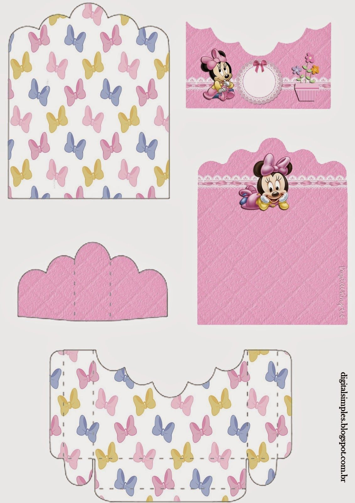 Baby minnie support for treats for free print bebes pinterest minnie beb imprimir - Candy diva futura ...