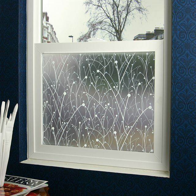 Willow Privacy Window Film 3 Ft X 4 Ft Contemporary Window