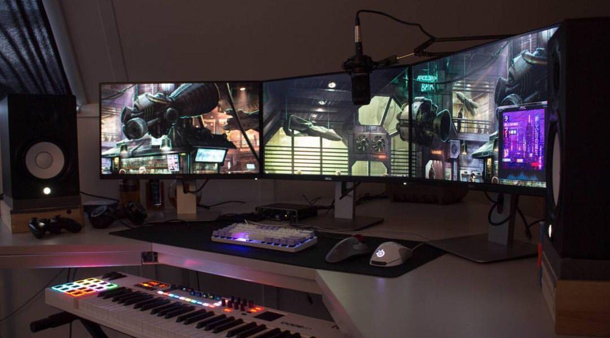 Battlestation 2016 V2 | Battlestation | Gaming desk …