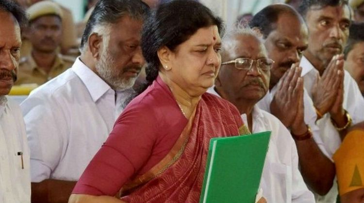 VK Sasikala, general secretary of AIADMK (All India Anna Dravida Munnetra Kazhagam) was unanimously elected as the new Chief Minister Tamil Nadu at the party's general meeting held in Chennai today
